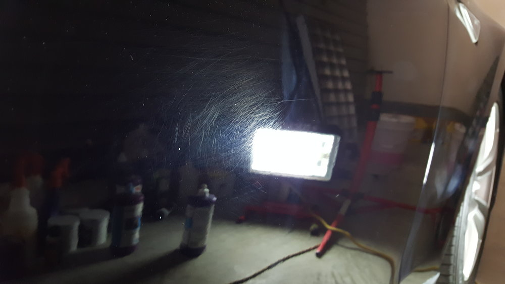 BEFORE PAINT CORRECTION -