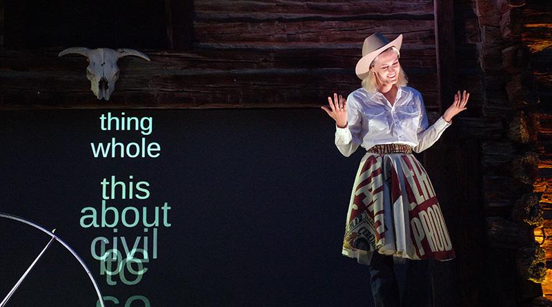 Scene 3: Laine Rettmer, performer
