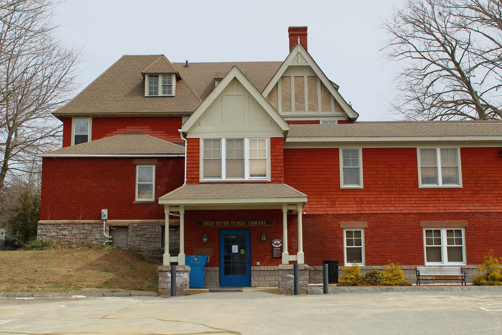 Deep River Public Library may (or may not) house a ghost!
