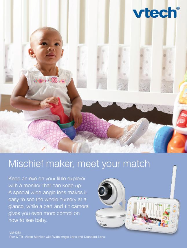 Mischief Maker Baby Print Ad