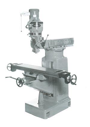 Model 847 Milling Machine
