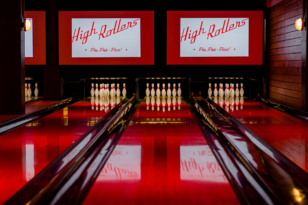 Bowling Alley & Beer Hall -