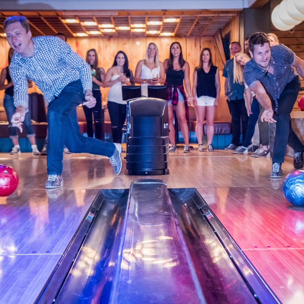 High rollers Banff's best bowling and pizza