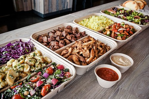 Drop Off Catering  we bring the flavors of the world to corporate & networking events, special occasions, holiday parties, and more. we cook, package, and deliver the food right to your food table.