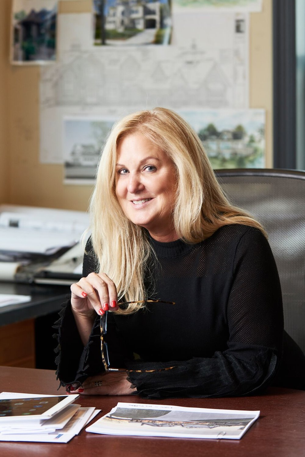 Kathy Alexander- President & Owner   With over 30 years of residential design experience, Kathy has become one of the prominent home designers in Minnesota. Her unparalleled knowledge, experience, and attention to detail are what allow her to turn your dream homes into reality. When she's not designing homes, Kathy loves to travel and spend time with her family.