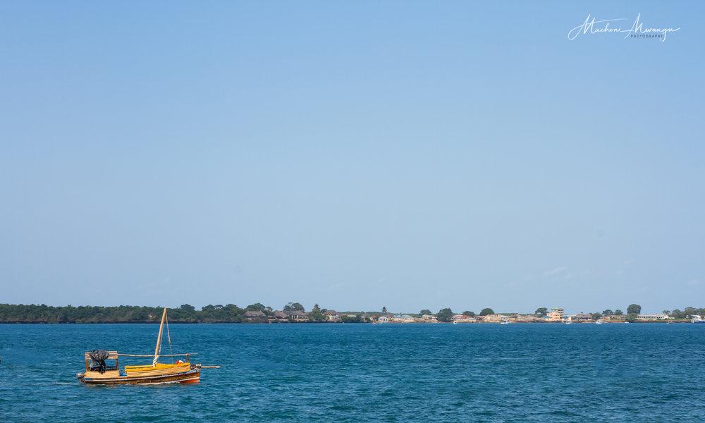 A view of Wasini Island
