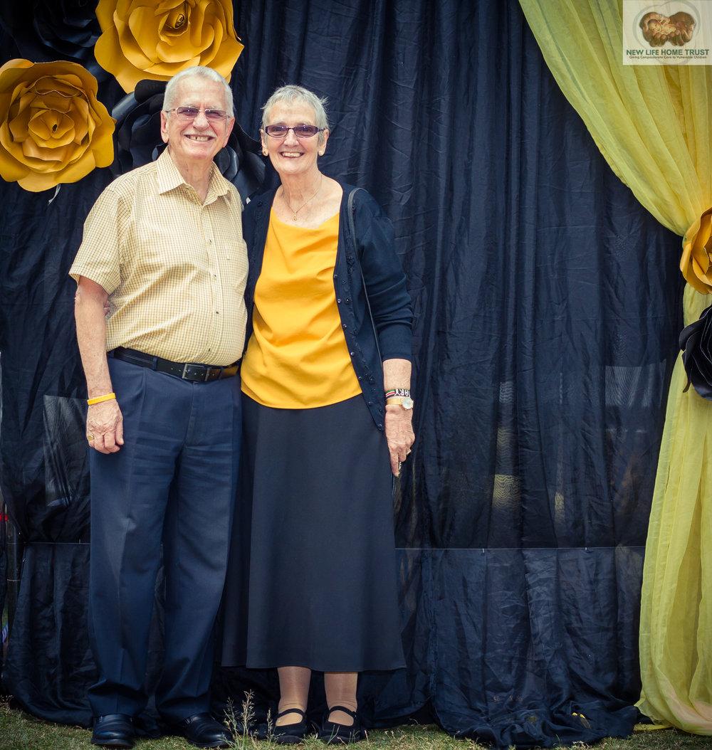 Clive and Mary Beckenham