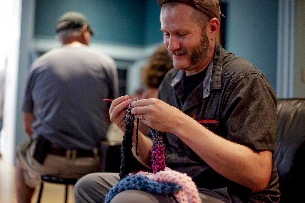 No Hook, Finger Crook: Finger Crocheting with Artist Seth Koen