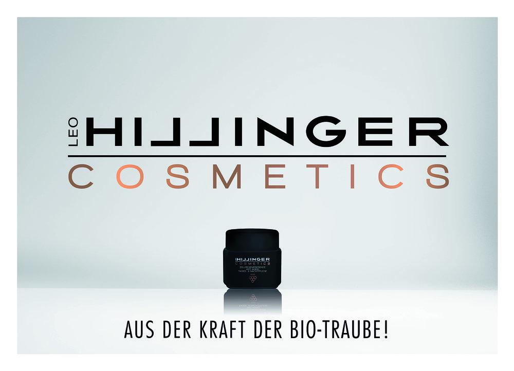 Auch die aktuelle Kampagne von Hillinger Cosmetics kommt aus dem Burgenland. GSC Werbung hat sie umgesetzt.  (c) GSC Werbung