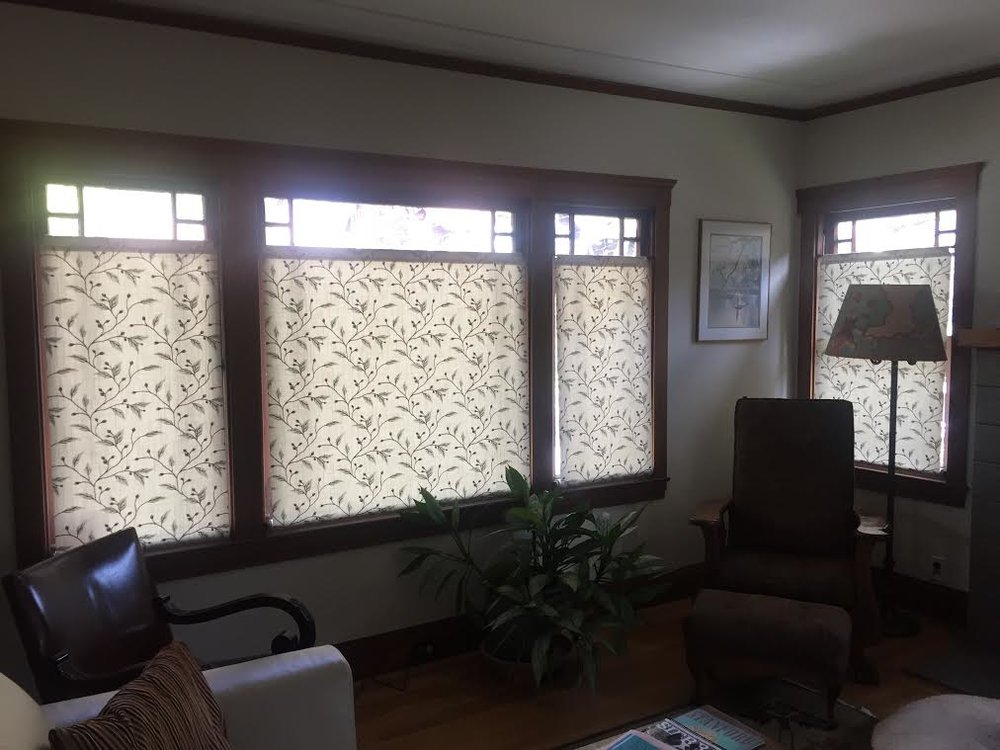Bottom Up Laminated Roller Shades