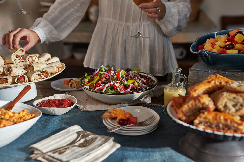 Cater with Taziki's   Nothing livens up a gathering like Mediterranean-fresh fare from Taziki's   Learn more about catering