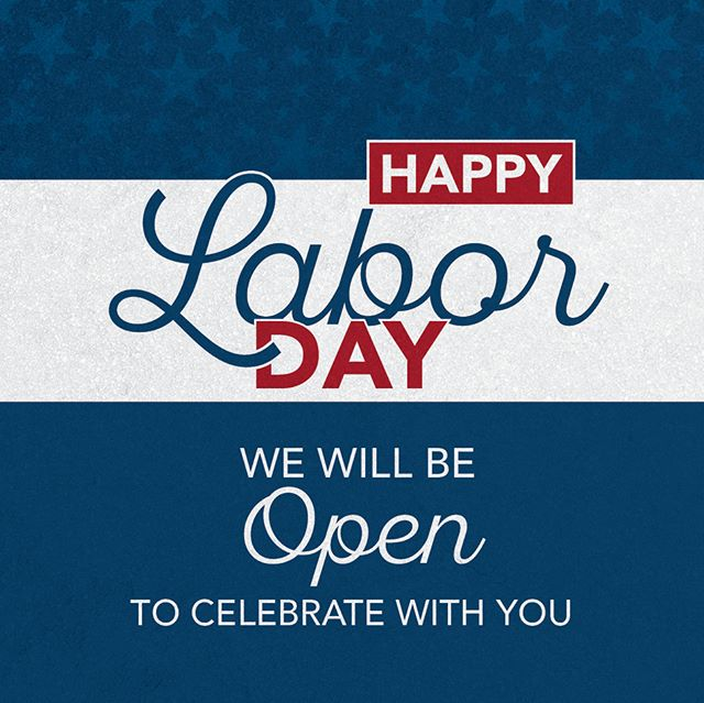Happy Labor Day! Whether you are cooking out, sleeping in, shopping, or just enjoying the time off, we join you in celebrating the contributions you all make to shape the well-being of our country! Today, we pay tribute to the nation's strength, freedom, and leadership that has formed the American worker. Our locations will either be open as normal, open with reduced hours, or closed. #laborday #tazikis #livethegoodlife