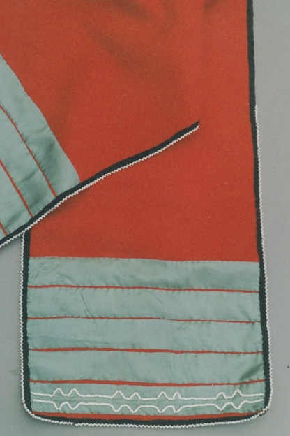Red breech cloth