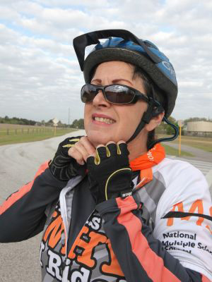 - Vicki WilliamsI would like to nominate my wife as a BAMS hero. She was diagnosed with MS in 2009. She has ridden in 16 MS 150's prior to diagnosis. She is also a ride Medic. She continues to volunteer and strive forward against MS. She also rides as a medic when her health allows and will ride as a medic in the upcoming ride in Hockley TX. She tries not to let MS get her down. I have included a pic from last year. James E Williams