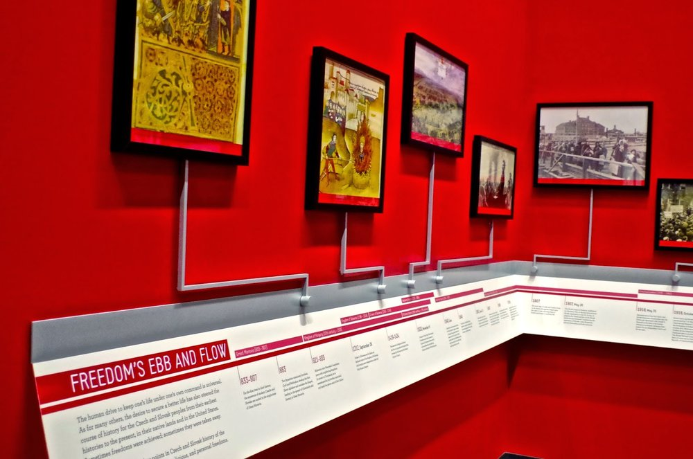 Timeline, National Czech & Slovak Museum, Cedar Rapids IA - 9-9-2014.jpg