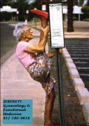 Have you lost the pep in your step? Not feeling like your old self? Come and see how we can help!! www.serenitygyn.com