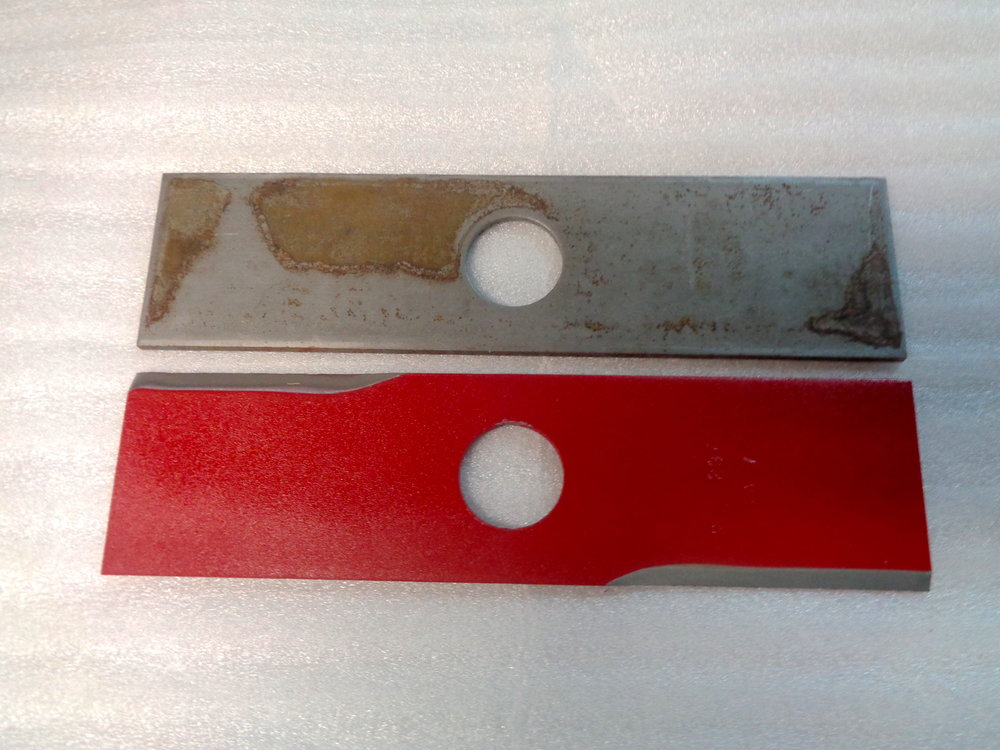 Edger Blades Before and After