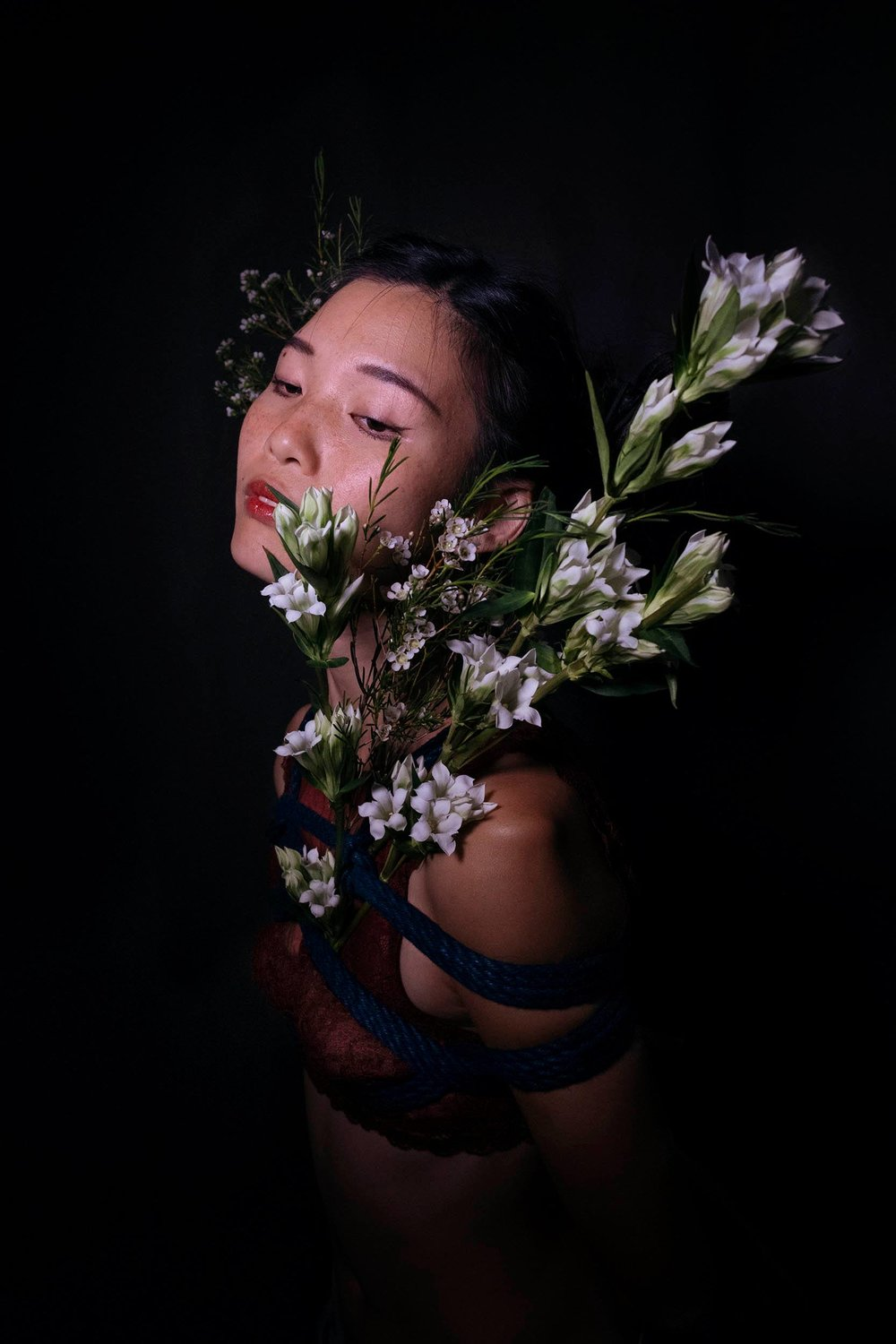 Wabisabi tied by Pauline Massimo, photography by Shatel Liao
