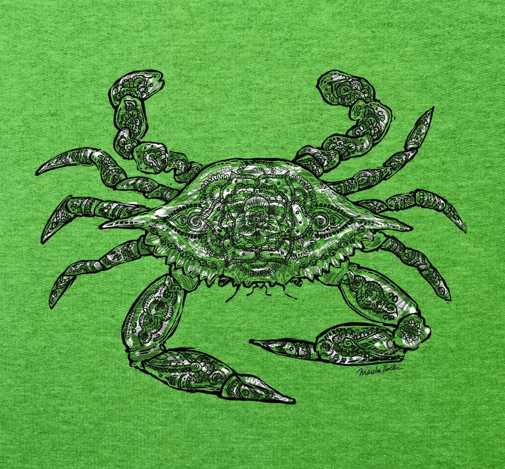 749 Crab Henna