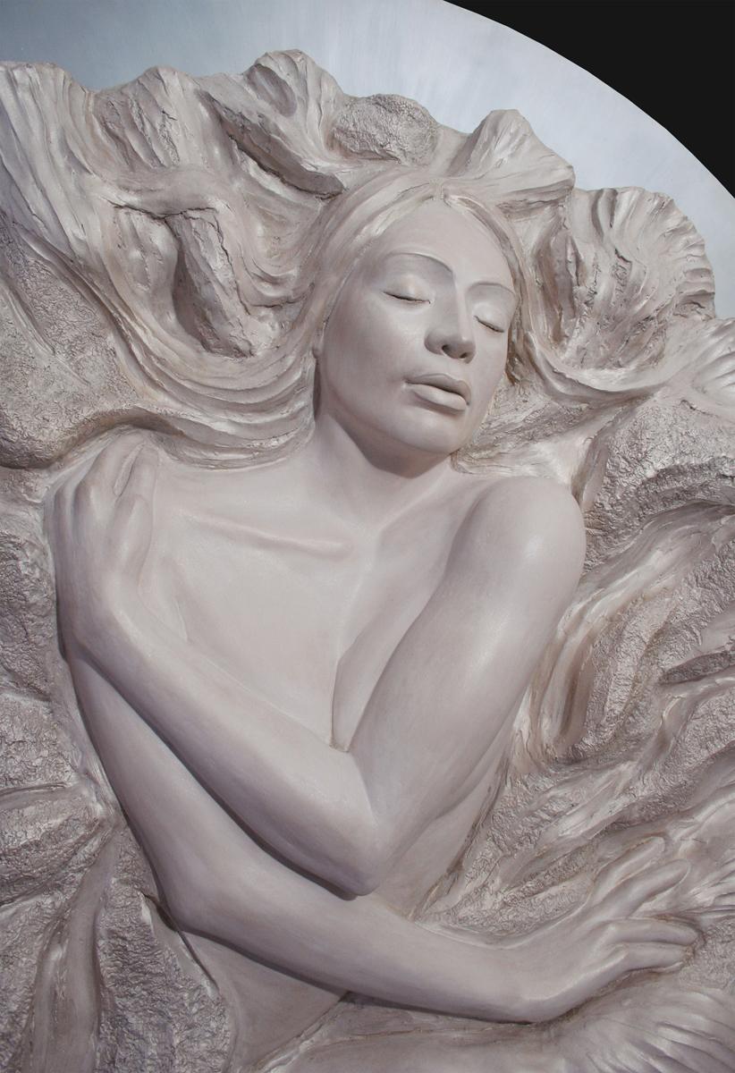 Denisa Prochazka   Endelss Love   Aqua Resin  48 x 48 x 6