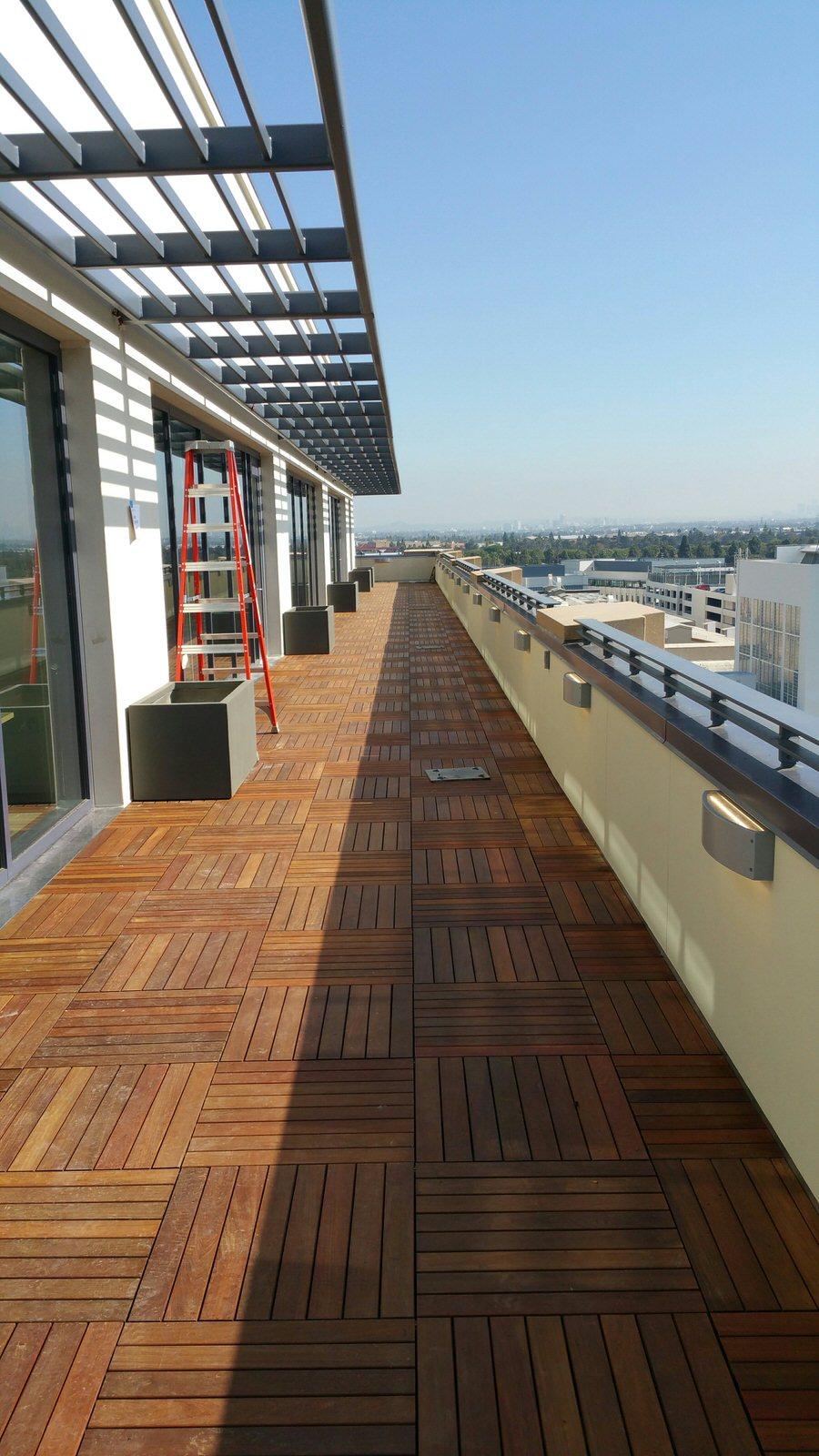 Sony Studios (Ipe Tiles)