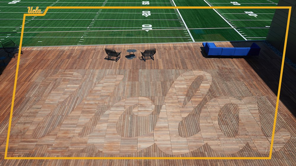 UCLA Wasserman Football Deck