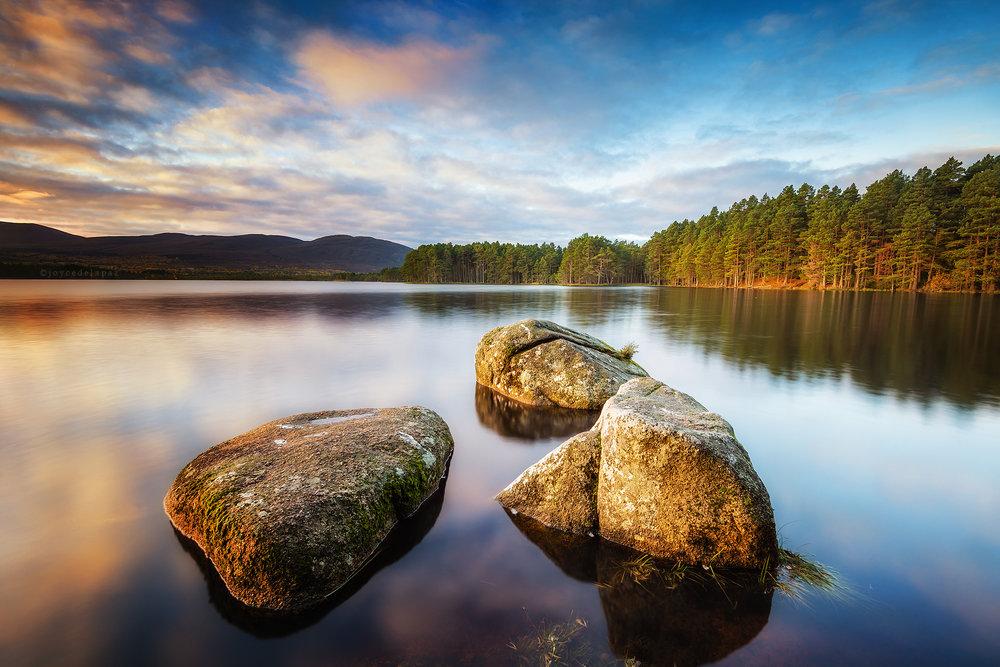 Sunrise at Loch