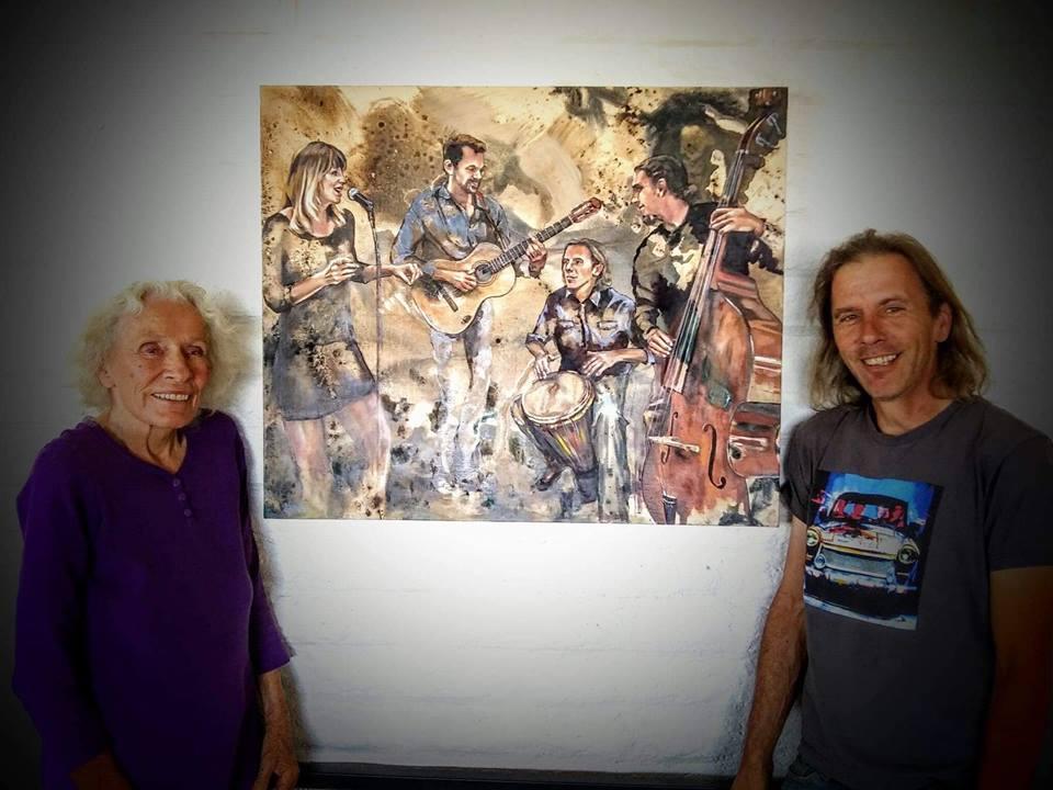 Jazzy Jean and Ari. Photo by Sadie Johannsson