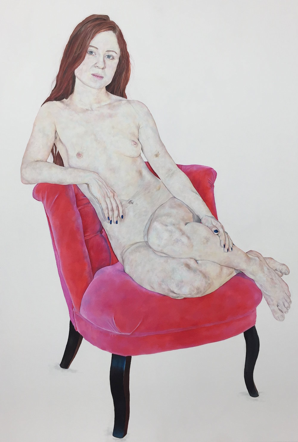 Venus on Pink Chair