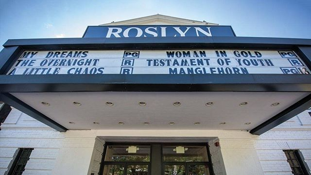 One of the many perks of living at Roslyn Landing: Bow Tie Roslyn Cinemas is located only moments away. We love this charming theater, don't you? @roslynbowtiecinemas 😍 •⠀⠀⠀⠀⠀ •⠀⠀⠀⠀⠀ •⠀⠀⠀⠀⠀ #Cinema #Theater #Movies #RoslynVillage #TownOfRoslyn #LongIsland #GoldCoast #VillageLife #VillageLiving #NewYorkState #NewYork