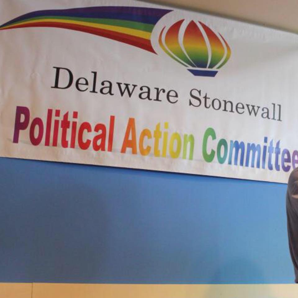 Delaware Stonewall PAC - Endorsements are great, but when you are endorsed by a group that reflects one of your truest values, the furthering of LGBTQ rights, it's an honor. Thank you Delaware Stonewall for your support.