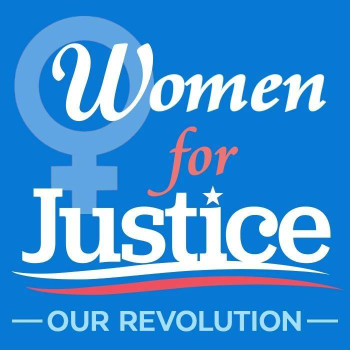 Women for Justice - I'm honored to have the support of a grassroots organization that is committed to ensuring that all women are supported by their government, no matter their age, race, class, or background.