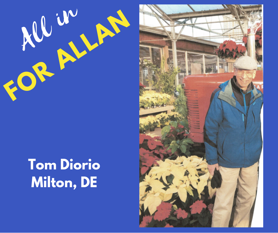 I am a retired Senior Citizen of Sussex County Delaware and a resident of District 36. I have a degree in Secondary Education and am active in environmental issues with a certification as an Environmental Steward from Rutgers University, I'm also active in various community organizations in Milton and Sussex County.  I am supporting Don Allan because he is committed to protecting our environment, especially the quality of our air and water resources, for present and future generations of Sussex County residents. I also like the fact that Don Allan's judgment is not influenced by corporate special interests because he does not accept campaign contributions from large corporations. Don's motivation and decisions are based upon what is best for the citizens of Sussex County and District 36.