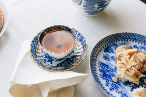 Time to bring out your traditional china sets!