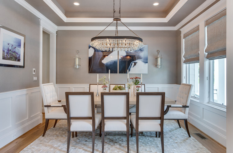 The area rug in our  Modern Farmhouse Glam  dining room is thick and silky soft.