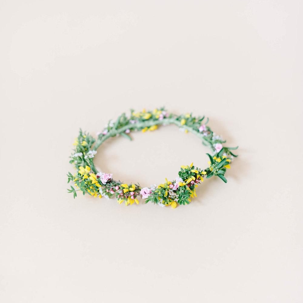 Wildflower flower crown mums weddings wildflower flower crown izmirmasajfo