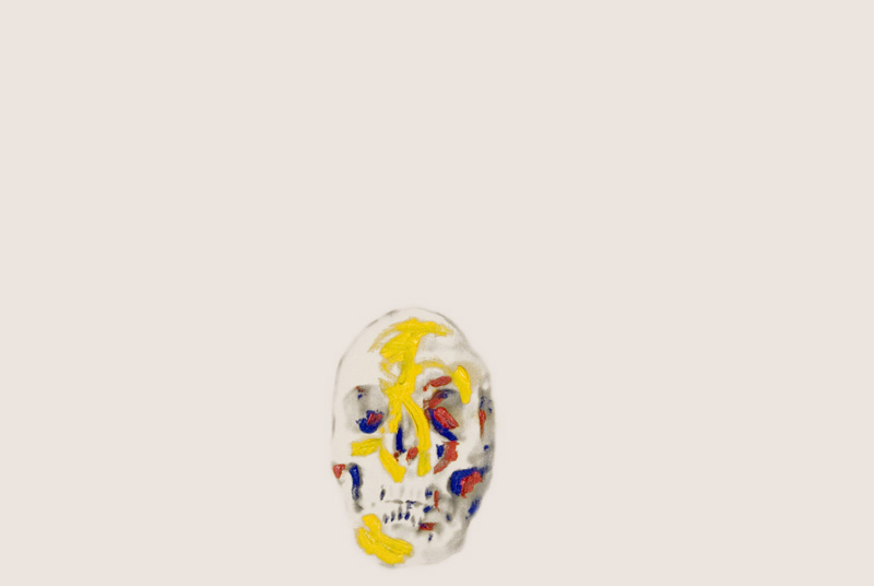 Skulls Primary Colours 2 , 2008.