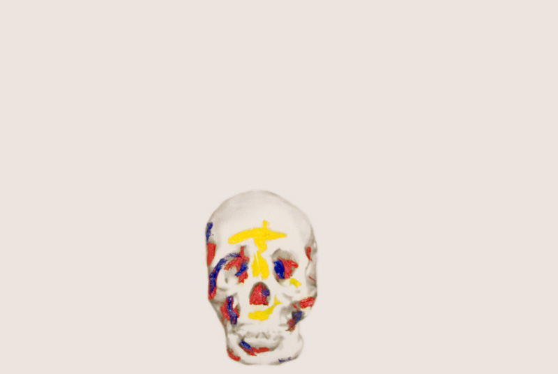 Skulls Primary Colours 3 , 2008.