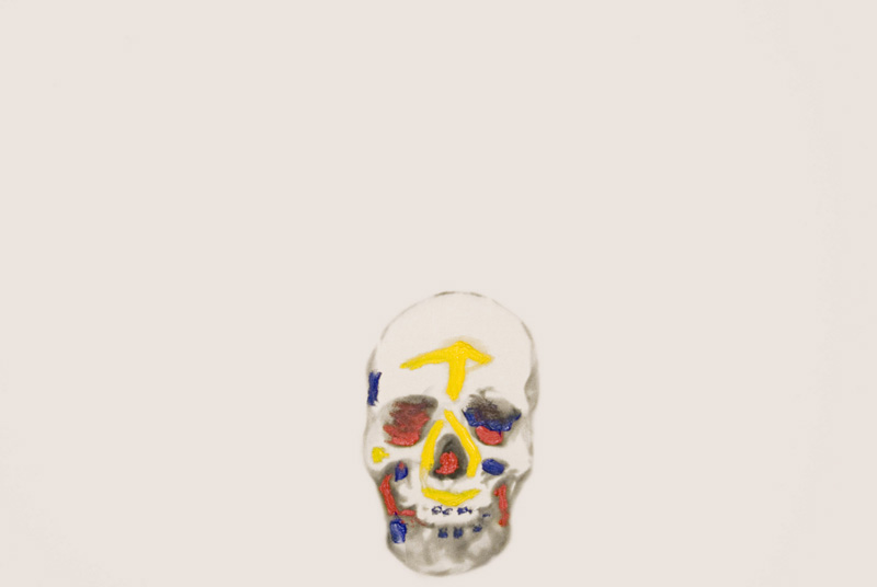 Skulls Primary Colours 4 , 2008.