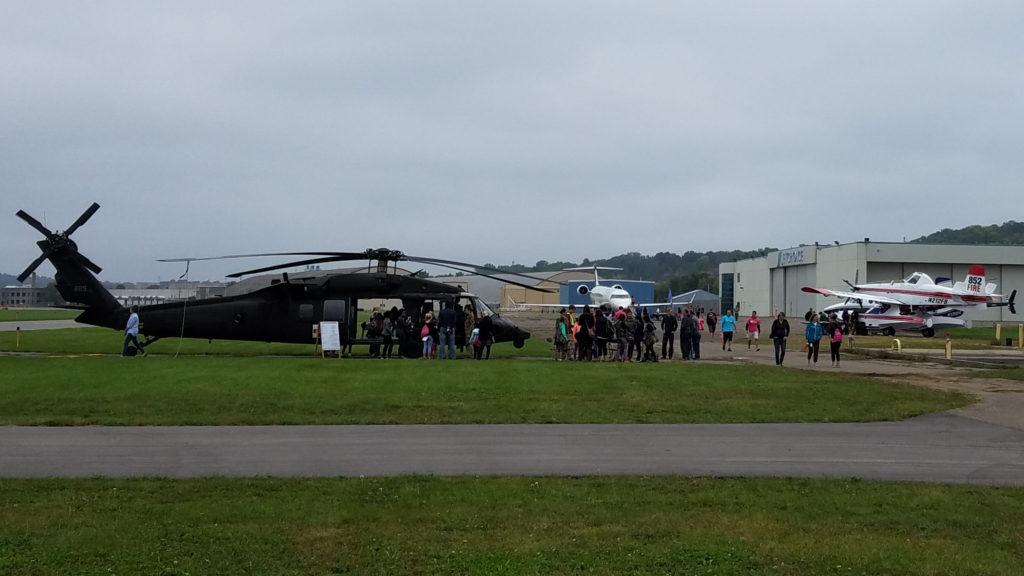 Picture of the aircraft at the 2016 Girls in Aviation Day (GIAD) at the St. Paul Airport