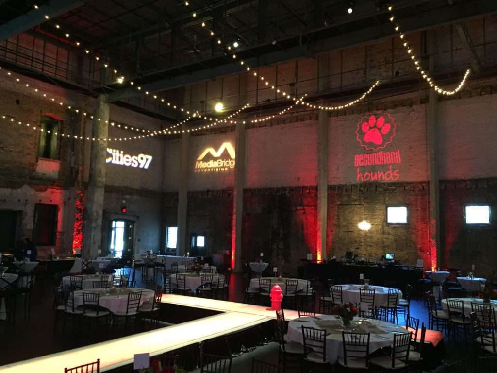 Picture of AV for You audio, video, and lighting for Secondhand Hounds Bone Appetit at Aria