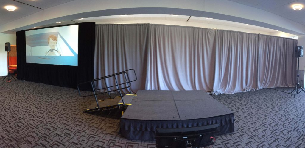 Picture of AV for You Audio and Pipe and Drape Rental at General Mills Headquarters