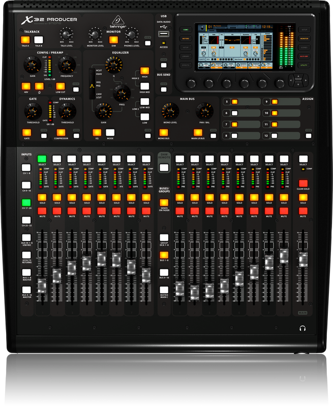 Picture of Behringer X32 producer