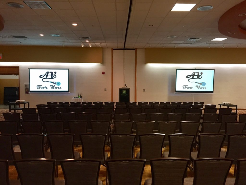 Picture of AV for You McKnight Ballroom Event at Holiday Inn St. Paul East