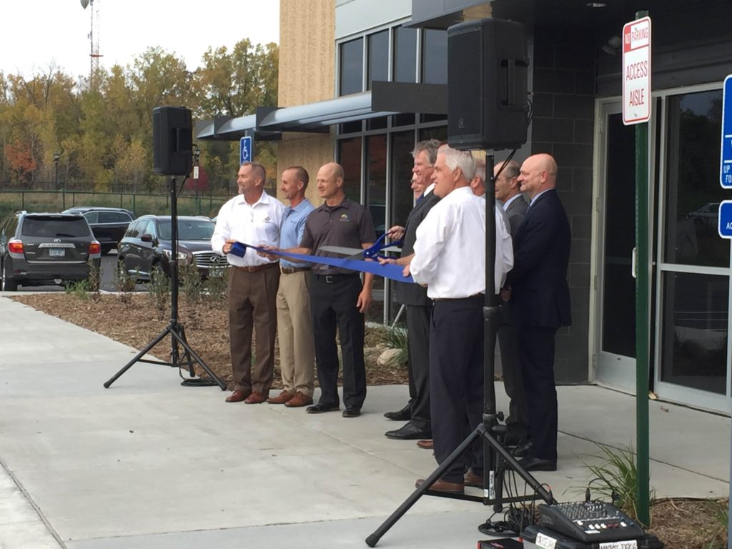 AV for You picture of the St. Paul Port Authority Ribbon Cutting at MacQueen Equipment Group