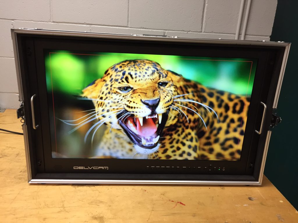Picture of AV for You rental equipment the Delvcam 4K monitor