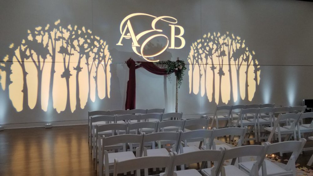Picture of AV for You Wedding Decor Lighting at The Blaisdell Manor in Minneapolis