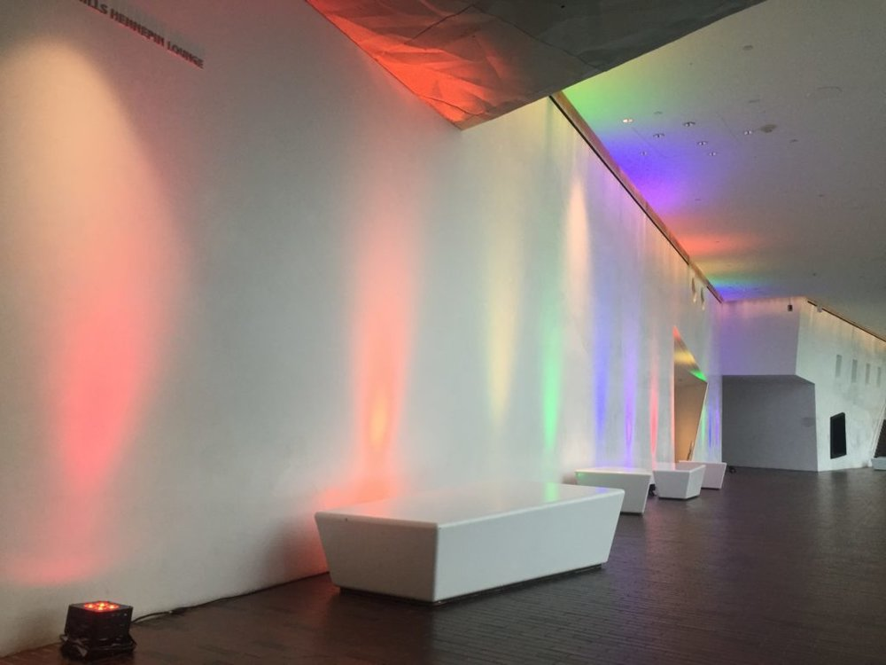 Picture of AV for You Decor lighting for Pride at The Walker Art Center