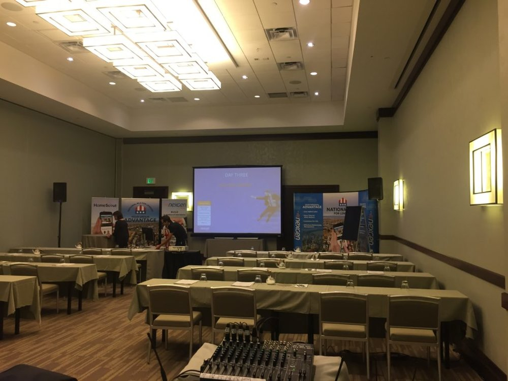 Picture of AV for You set up audio and video in the The Westin Edina Galleria.