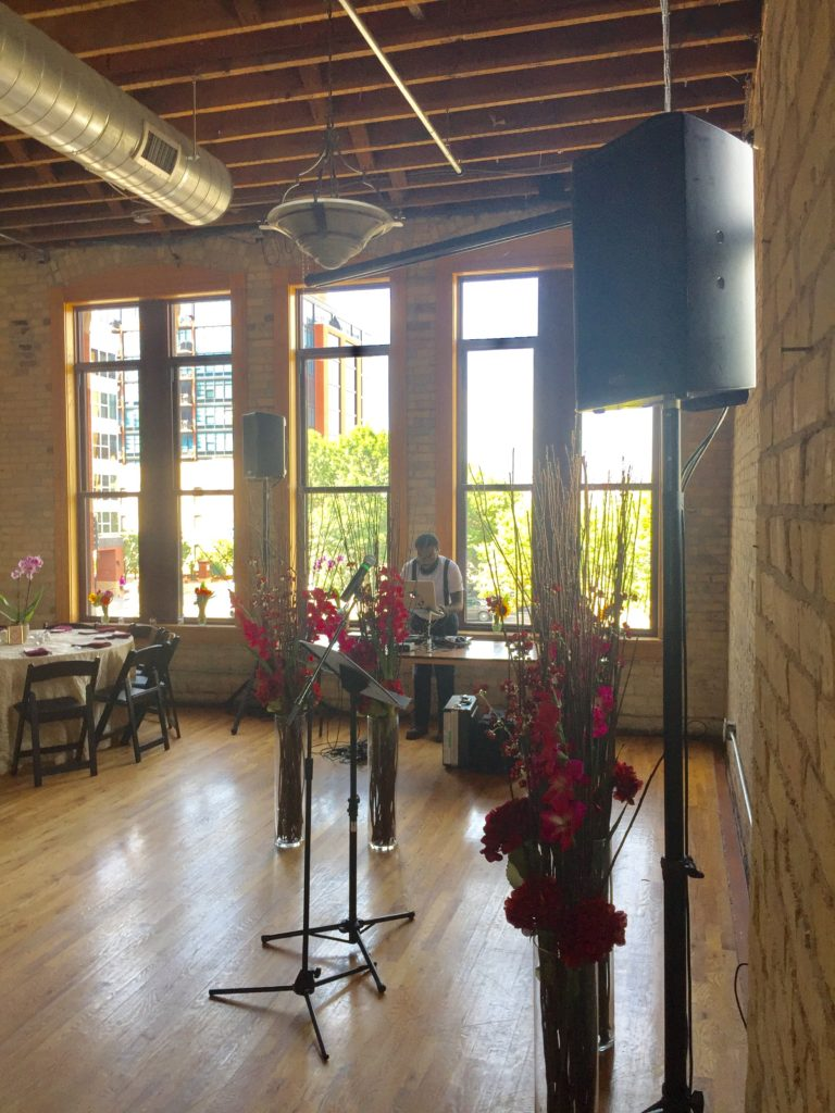 Picture of AV for You Wedding Audio at Day Block Brewing Event Center